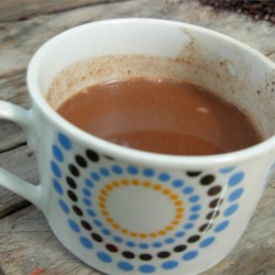 The freshest cup of hot chocolate!