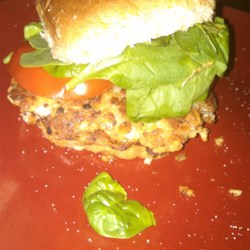 Salmon Burgers Recipe - Canned salmon makes this burger dinner a breeze. Serve it with your favorite toppings.