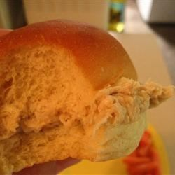 Hot Shredded Chicken Sandwiches