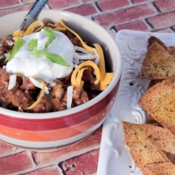 David's Favorite Football Dip Recipe - This hearty dip made with plenty of beans, ground turkey, and the perfect balance of seasoning will be an instant hit during football season.