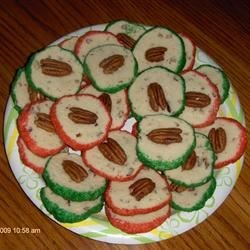Cream Cheese Christmas Cookies Recipe - These are so nice at Christmas time, they look as pretty as they taste.