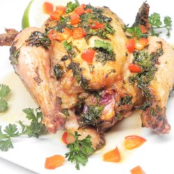 Delightful Cornish Hens Recipe - Cornish game hens are coated in an olive oil-based spice mixture, creating a flavorful main coarse for a weeknight or special occasion.