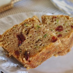Zucchini Cake IV Recipe - I got this recipe from my boss in California. I always double it and it makes quite a few loaves. I freeze them for holiday gifts