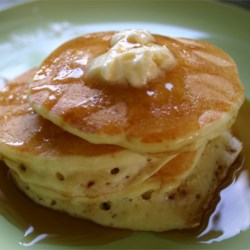 Buttermilk Pancakes II Recipe and Video - Fresh buttermilk is the secret ingredient for light and fluffy cakes in this buttermilk pancake recipe.