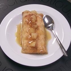 Apple Enchilada Dessert