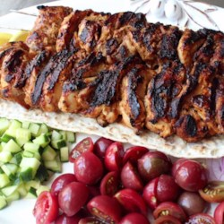 Turkish Chicken Kebabs Recipe - Chef John uses a yogurt-based marinade for these tasty, juicy, and tender grilled Turkish Chicken Kebabs