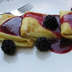 Chef John's Cheese Blintzes Recipe - Chef John's cheese blintzes, filled with a lemon ricotta-cream cheese mixture, are perfect for a special brunch. Try them with a fresh berry sauce.