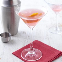 Rhubarb-Infused 'Barbtini Recipe - Rhubarb-flavored sugar syrup is easy to make and a terrific way to add intriguing flavor to summer martinis and Cosmopolitans, or any favorite mixed drink.