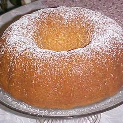Momma's Wine Cake Recipe - This simple cake works perfectly during the holidays, on a buffet table or in a picnic basket! And you won't believe the aroma that comes from your oven during baking!  The alcohol bakes off and leaves just the flavor. It's very moist and has been a favorite birthday request in our house for over 20 years!