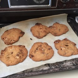 Gooey Marshmallow Chocolate Chip Cinnamon Cookies Recipe - Sweet orange flavored cookie dough is joined in harmony with chocolate chips and mini marshmallows to create a sweet masterpiece.
