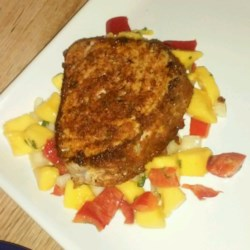 Blackened Tuna Steaks with Mango Salsa Photos - Allrecipes.com