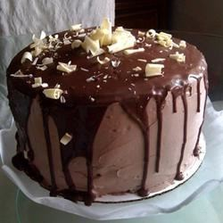 Chocolate Cake I Recipe - This is a simple recipe but it makes a rich chocolate cake thanks to the addition of grated chocolate and sour cream.