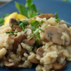 Gourmet Mushroom Risotto Recipe and Video - This authentic Italian-style mushroom risotto takes time to prepare, but it's worth the wait. It's the perfect complement for grilled meats and chicken dishes.