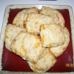 Tender Cheddar Garlic Biscuits Recipe - Cheddar garlic biscuits are a tender addition to the bread basket at the dinner table and are easy to prepare.