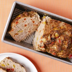 Healthy Turkey Loaf Recipe - Lean ground turkey in a flavorful mixture of salsa, bell pepper, egg and onion. The ease of meatloaf without the calories! Easily frozen and baked later for a quick meal.