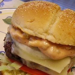 Secret Burger Sauce Recipe - Don't you just love the sauce on your burger you just got from the restaurant or even the fast food joint.  Well we do, put this on your burgers instead of the regular mayo and ketchup.  We love to dip our french fries in this too.