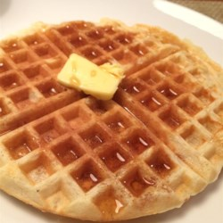 Aunt Gun-Marie's Waffles Recipe - This recipe for Swedish waffles produces a crispy outside and tender inside and has been passed down through the generations.