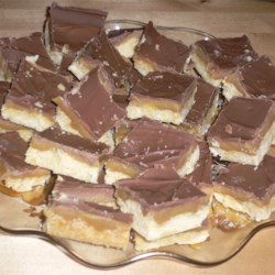 Caramel Shortbread Recipe - Passed down directly from Scotland, this caramel shortbread recipe is sure to be a crowd-pleaser.