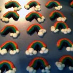 Shortbread Rainbows