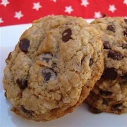 Treasure Cookies Recipe - These cookies are a mixture of graham cracker crumbs, sweetened, condensed milk, coconut, chocolate chips, and pecans.