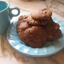 Peanut Butter and Chocolate Peanut Butter Cup Cookies Recipe - I thought this up totally by scratch! If you like peanut butter cups, you'll like this cookie.