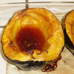 Acorn Squash Recipe and Video - Butter and brown sugar are all you need to turn acorn squash into a baked treat your whole family will love.