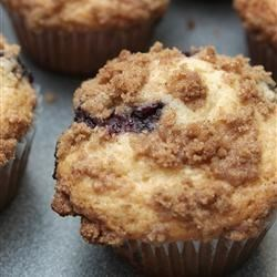 Blueberry Stresel Muffins