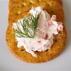 Smoked Salmon Spread Recipe - A delicious and easy spread that always gets many compliments. Serve it with somewhat bland crackers to taste the smoked salmon. You can add some chopped capers for more flavor, if needed. I usually serve this on a nice plate and put the spread in a mold before serving.