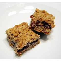 Raisin Sour Cream Bars Recipe - The sour cream makes these bar cookies with raisins and oats get you very moist bars.