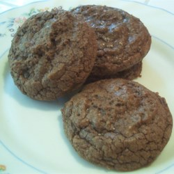 Chocolate Chews Recipe - This soft chocolate cookie is chewy and chocolaty.