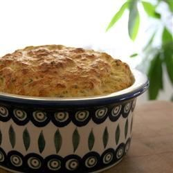 Caribbean Crab Souffle Recipe - A spicy crab souffle with celery, coconut, thyme, garlic.