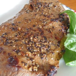 5-Ingredient Flat Iron Steak Marinade Recipe - Flat iron steak marinade, made with Worcestershire sauce, onion, and garlic, is a quick and simple way to add a lot of flavor to steak.