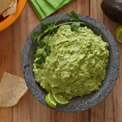 Ranch Guacamole Recipe - Avocados, lemon juice, and hot pepper sauce bring a guacamole twist to creamy Hidden Valley(R) Original Ranch(R) dip.