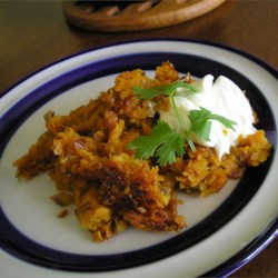 Sweet and Sassy Hash Browns Recipe - If you like sweet potatoes, you'll love them as hash browns, spiced with chipotle chile powder and garlic, with a little added sweetness from brown sugar.
