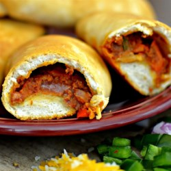 Cerdos en una Manta (Pigs in a Blanket) Recipe - A Mexican twist on 'pigs in a blanket' with chorizo and jalapeno pepper delivering a twist on a classic snack.
