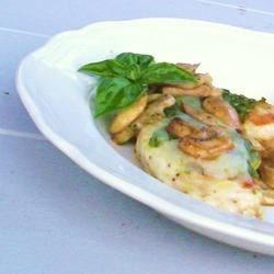 Pesto Mushroom Chicken