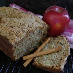 Apple Walnut Pound Cake Recipe - Almost a pound cake. We like it sliced, spread with butter, then microwaved just until warm.