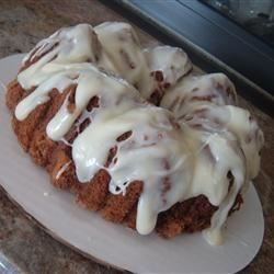 Spiced Banana Cake Recipe - A really good, moist spice cake.  Especially good with the Allspice Cream Cheese Frosting.
