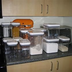 I'm stocking up on containers and baking items!