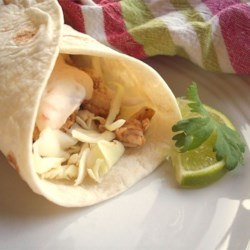 Tilapia Soft Tacos with Chipotle Cream