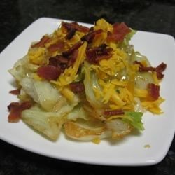 DeeAnn's Cheesy Bacon Cabbage Recipe - This is a recipe that my Daddy showed me...and I perfected it!  This recipe made me a lover of cabbage.  It has just the right blend of cheese and bacon.  Just try it, you'll see!