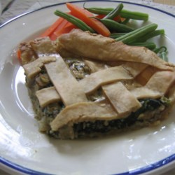 Mushroom Pie Recipe - My mum who is from Russian used to make the stuffing as a main meal.  I turned it into a pie and the result is heavenly!!