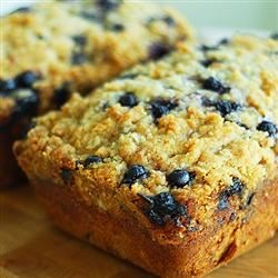 Blueberry Zucchini Bread Recipe - Blueberries and zucchini baked up into delicious little summertime bread loaves!