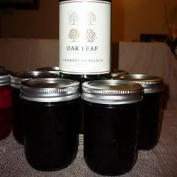 Port Wine Jelly Recipe - Fredricksburg Texas has some of the best Texas wineries close by.  While experimenting with a great port I found there, I came up with this beautiful, jeweled jelly. It's easy to make for a gift basket.