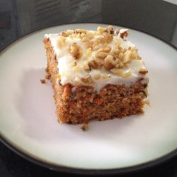 Carrot Cake XI Recipe - Everyone tells me this is the best carrot cake ever! Frost with your favorite Cream Cheese Frosting.