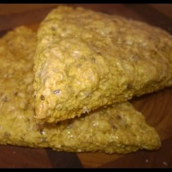 Vegan Lemon Scones with Chia Recipe - This is a foolproof vegan lemon scone recipe, using chia seeds for texture.
