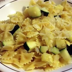 Bow Ties with Veggies Recipe - I cooked some bow tie pasta (farfalle) and tossed with some sauteed vegetables. Simple and delicious. Makes for a great side dish with chicken or meat loaf