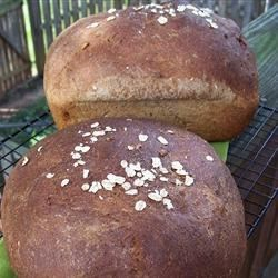 Whole Wheat Seed Bread Recipe - Whole wheat bread is jazzed up with flax seed, sunflower seed, and oatmeal to create something truly unique. This is a recipe I formulated for my dear son while he was fighting cancer.