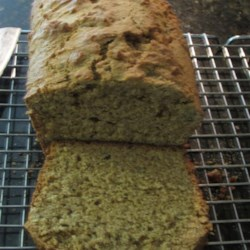 Zucchini Bread, Pumpkin Style  Recipe - Here's a flavorful zucchini bread with a pumpkin-like taste because the zucchini are pureed in a blender.