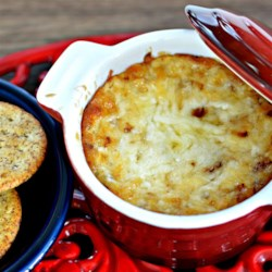 Vidalia(R) Onion Dip Recipe - This cheesy sweet onion dip takes less than an hour to make for an easy appetizer for your next gathering.